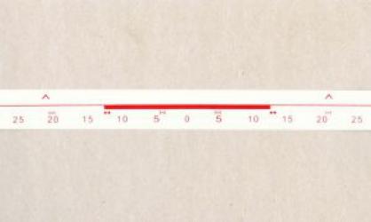 Разметочная лента для верхней фонтуры 5 класс